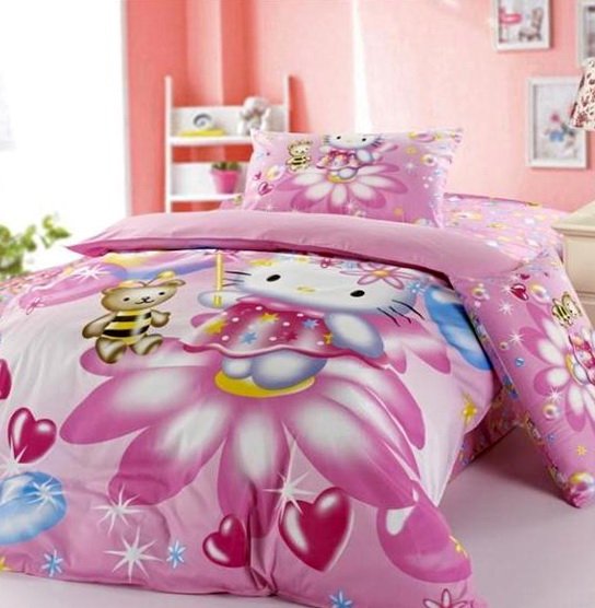 Hello Kitty Bed Set Queen