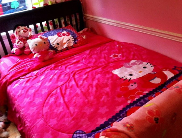 Hello Kitty Bed Set Walmart