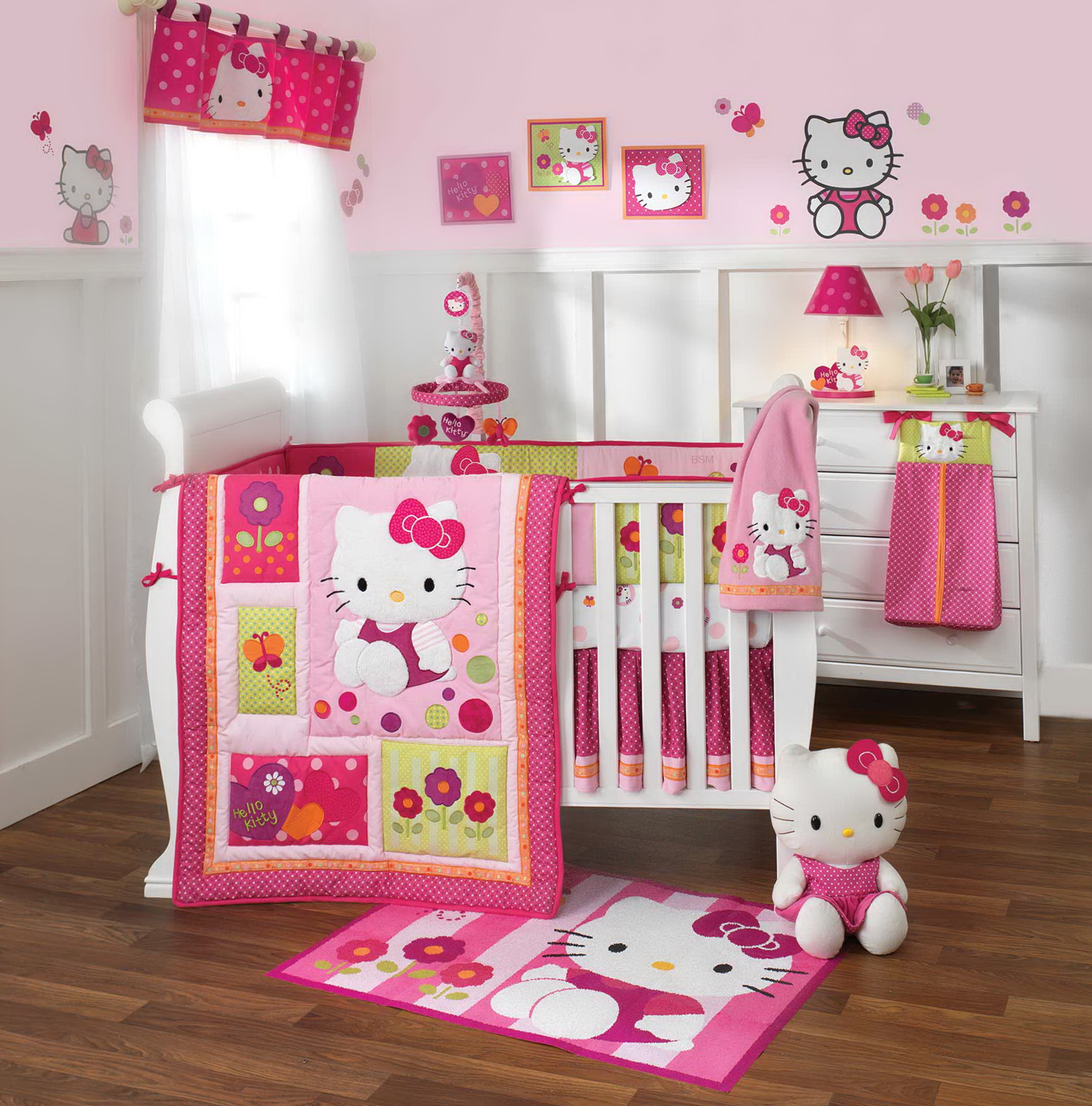 Hello Kitty Bedding Crib