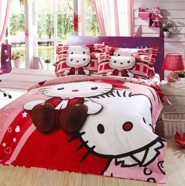 Hello Kitty Bedding Sets Full Size
