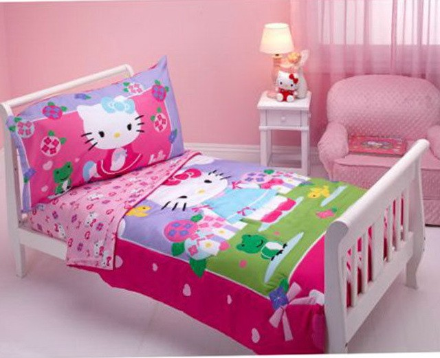 Hello Kitty Toddler Bed Sheets
