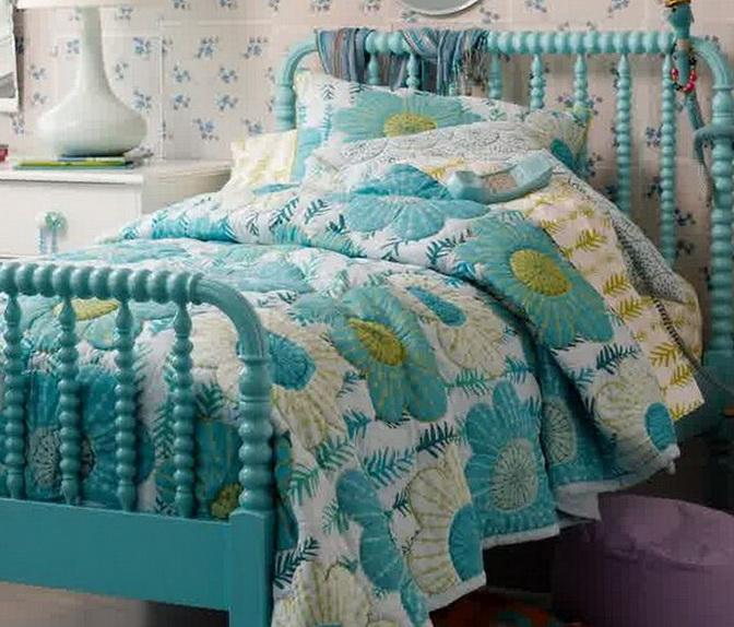 Jenny Lind Bed Azure