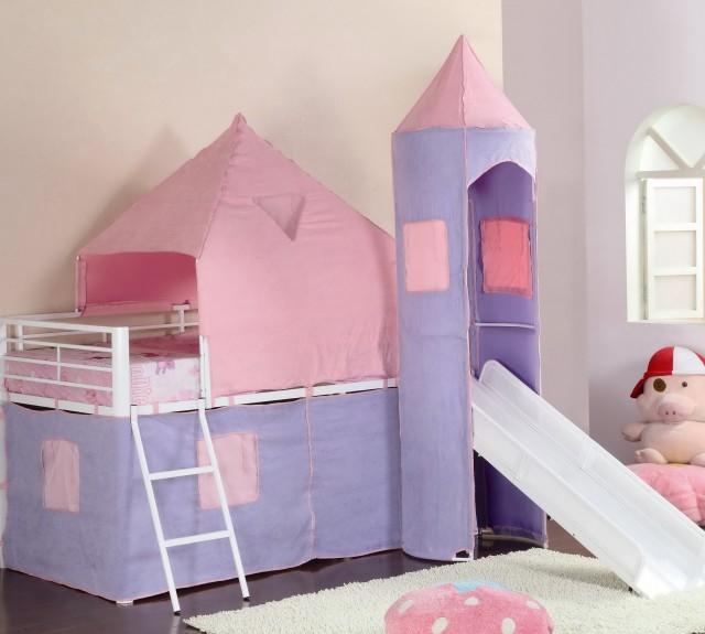 Kids Loft Beds With Slides