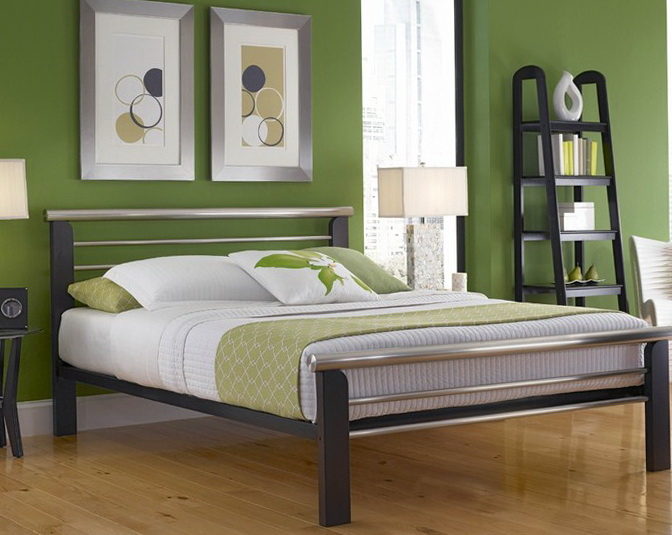 King Platform Bed Frame With Headboard