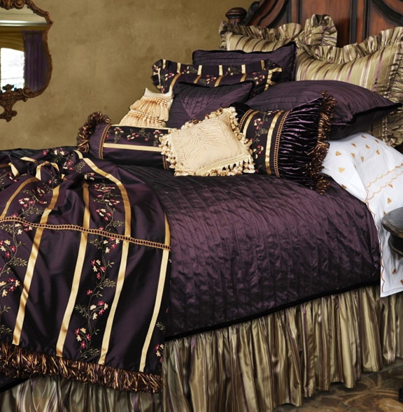 King Size Bed Sets With Curtains