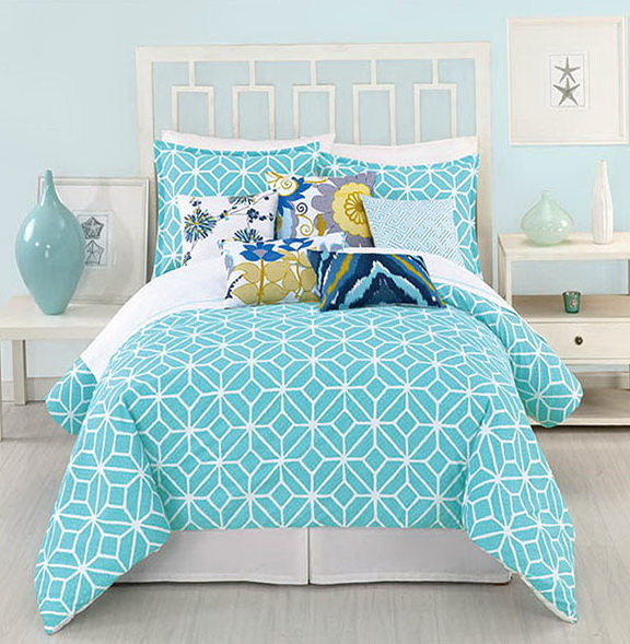 King Size Bedding Turquoise