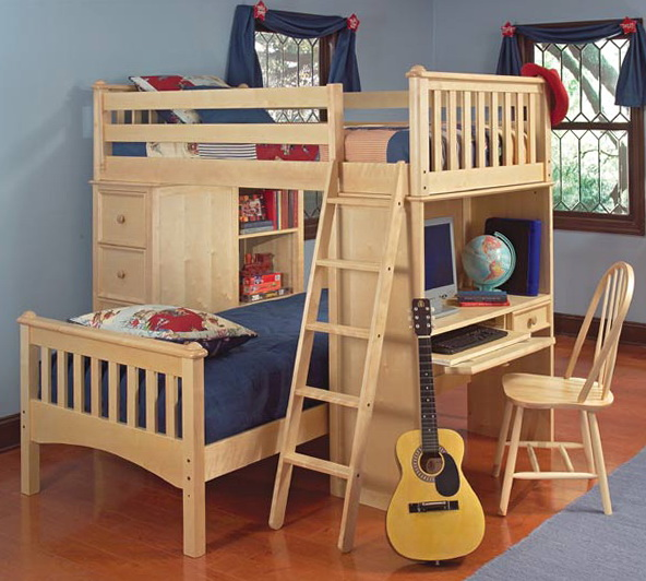 L Shaped Bunk Beds Sydney