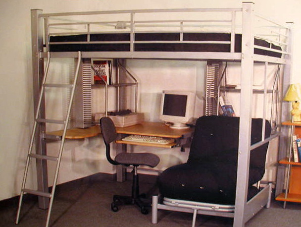 Loft Bed With Stairs And Desk
