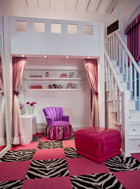 Loft Beds For Girls With Slide