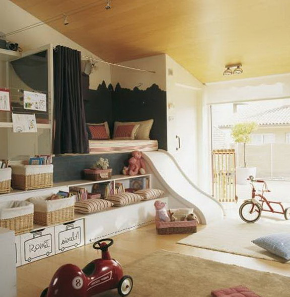Loft Beds For Kids With Slide