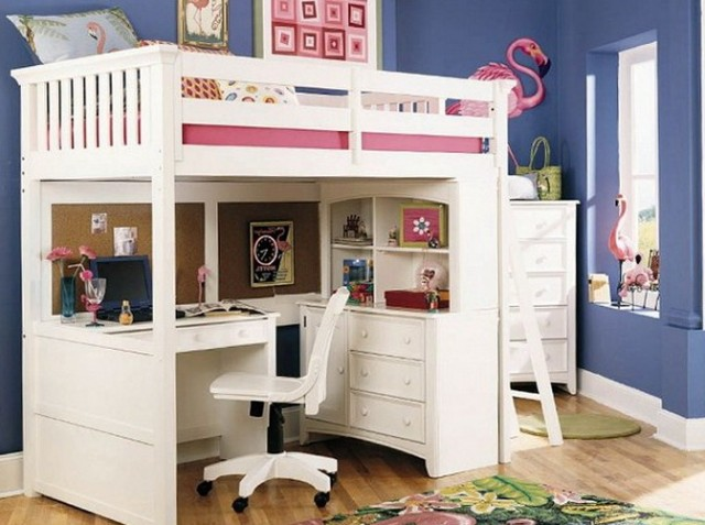 Loft Beds With Desk For Kids