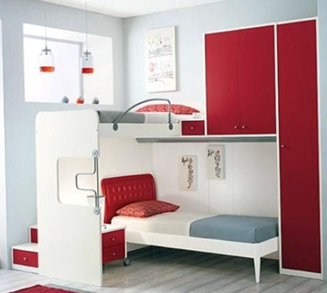 Loft Bunk Beds For Teenage Girls