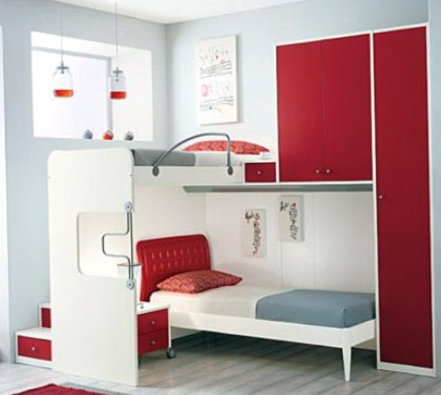 Loft Bunk Beds For Teenage Girls
