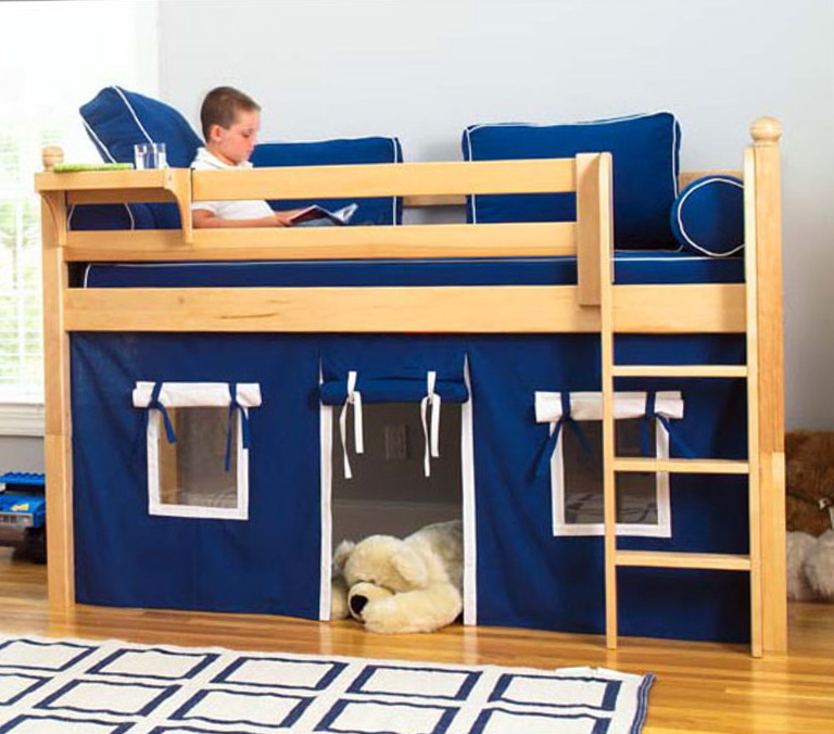 Low Loft Beds For Kids