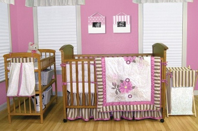 Modern Baby Bedding For Girls