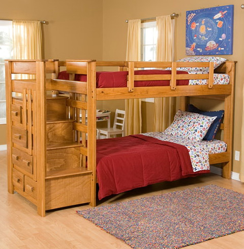 Modern Kids Loft Beds