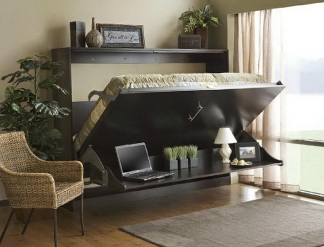 Modern Murphy Bed With Desk