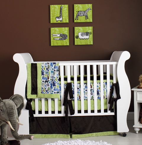 Modern Neutral Baby Bedding