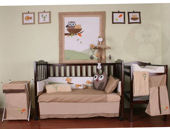 Owl Baby Bedding For Boys