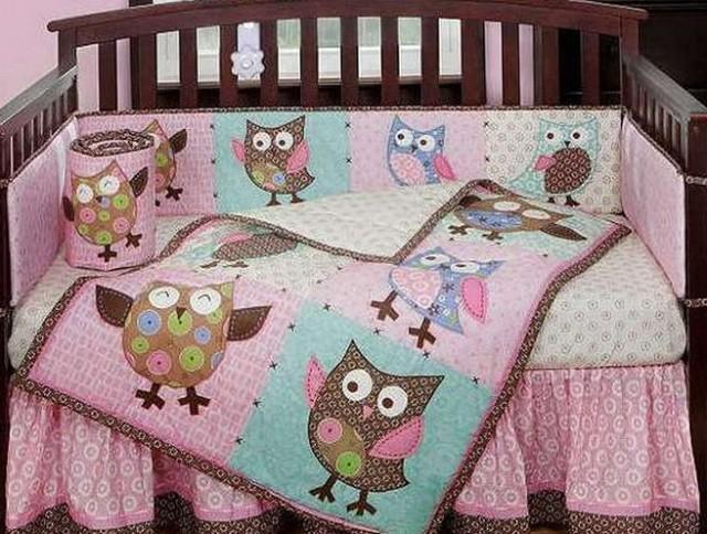 Owl Baby Bedding For Girls