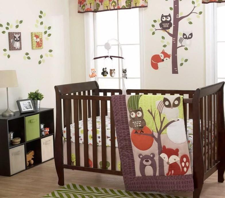 Owl Baby Bedding Neutral