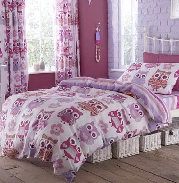 Owl Bedding For Girls