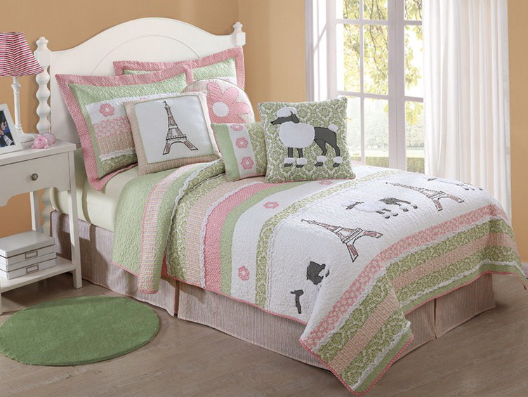 Paris Themed Bedding For Teenage Girls