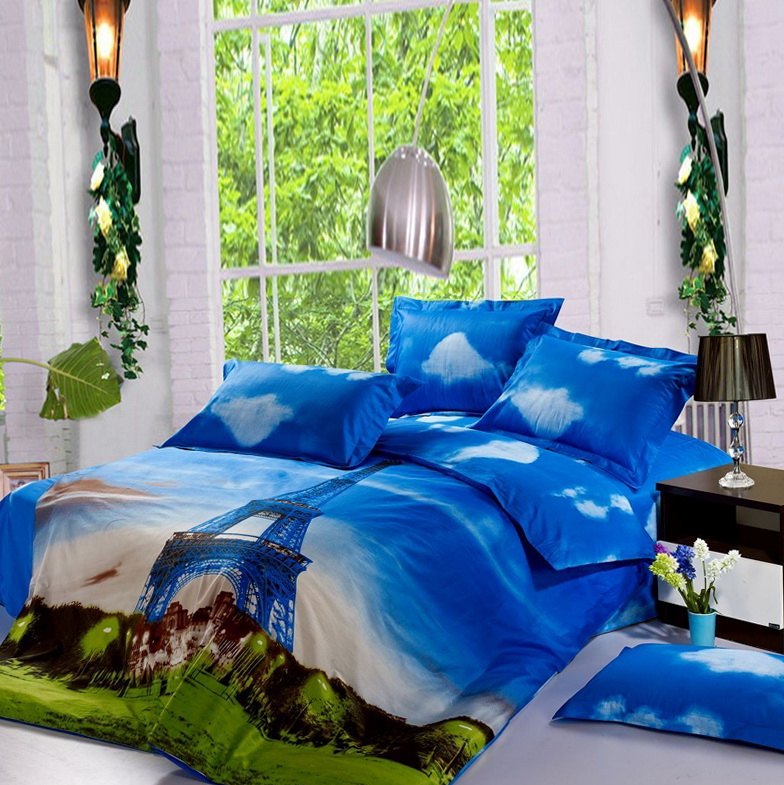 Paris Themed Bedding Sets
