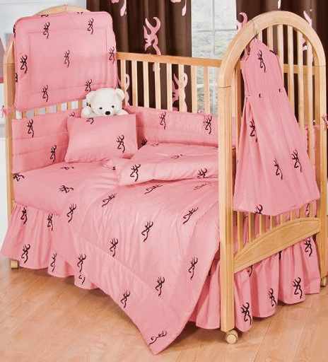 Pink Camo Bedding For Cribs