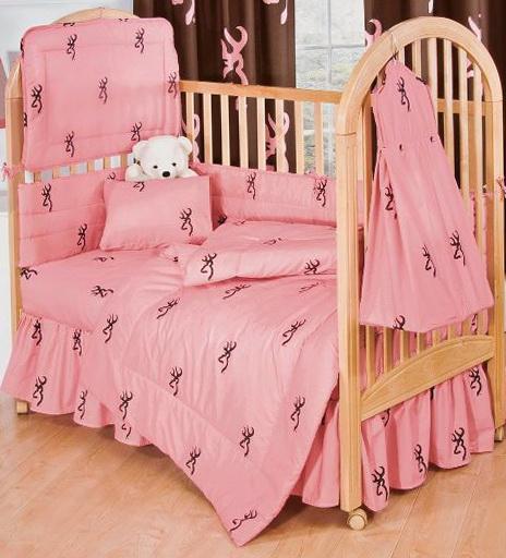 Pink Camo Bedding For Cribs