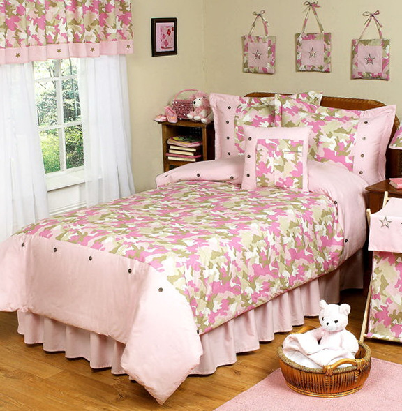 Pink Camo Bedding Queen