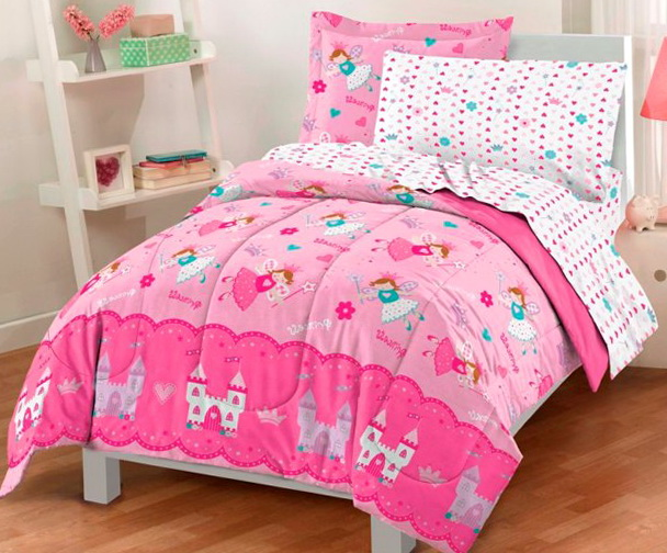 Pink Twin Bedding Sets