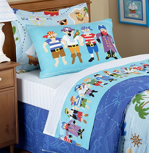 Pirate Toddler Bed Sheets