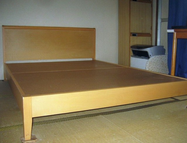 Platform Bed Frame King Size