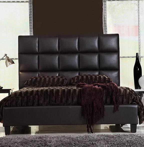 Platform Bed Frame Leather