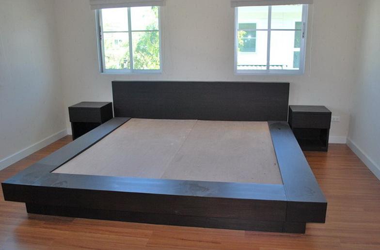 Platform Bed Frame Plans