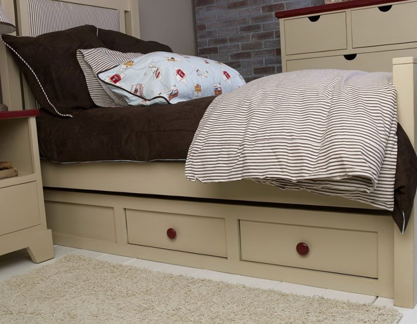 Platform Bed With Drawers Plans