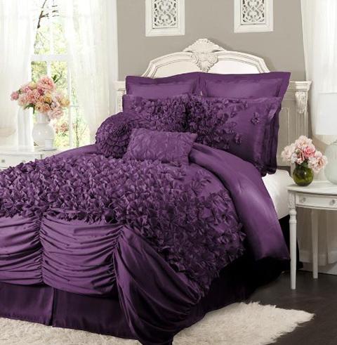 Purple Bedding Sets Queen