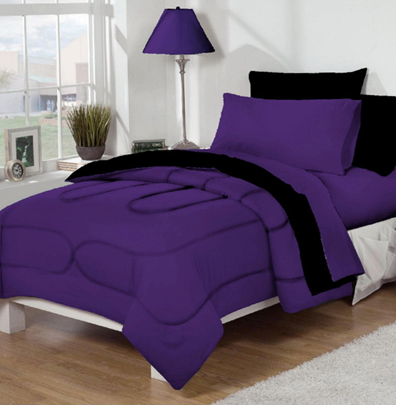 Purple Dorm Room Bedding