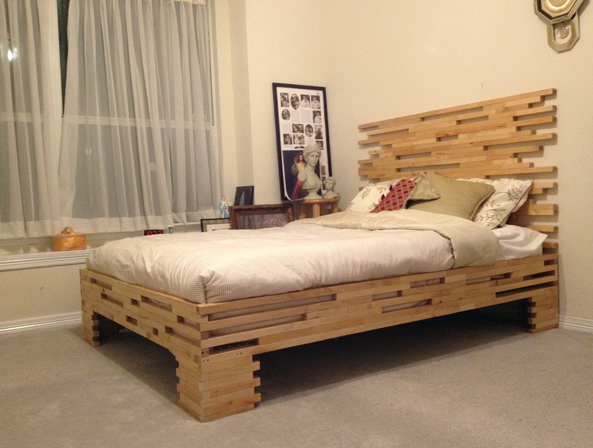 Queen Bed Frame Wood