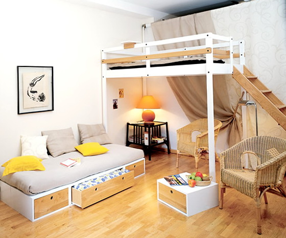 Queen Loft Beds For Adults