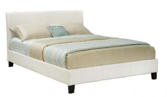 Queen Platform Bed White