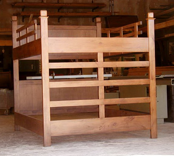 Queen Size Loft Bed Frame Plans