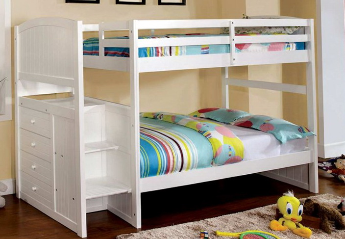 Queen Size Loft Bed With Stairs