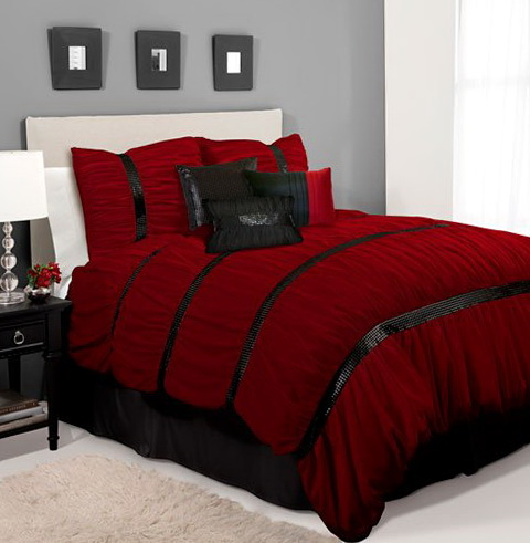 Red Bedding Sets King