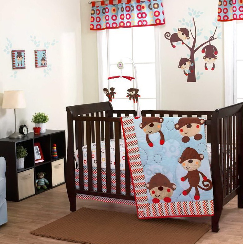 Red Crib Bedding For Boys