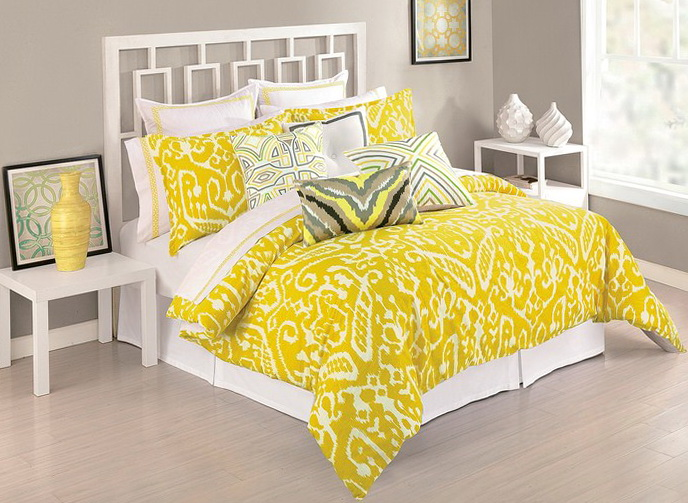 Trina Turk Bedding Yellow