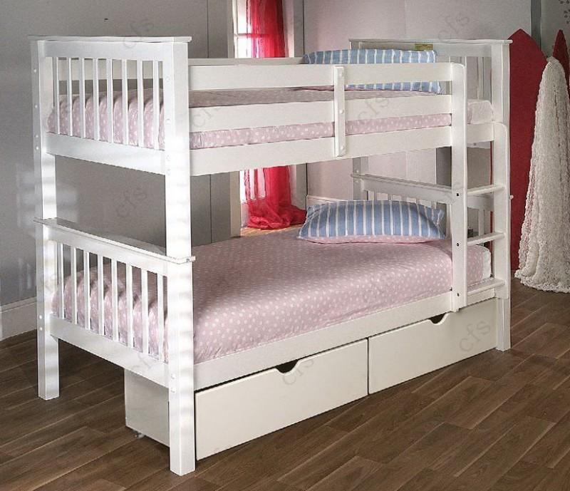 White Bunk Beds Uk