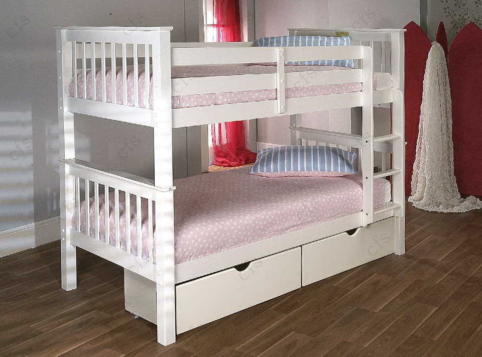 White Bunk Beds Uk