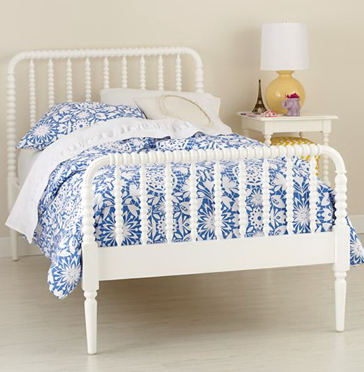 White Jenny Lind Twin Bed